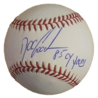 Dwight Doc Gooden Autographed New York Mets OML Baseball 85 Cy Young JSA