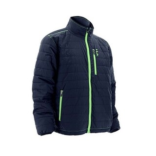 Huk Puffer Navy Medium Winter Jacket
