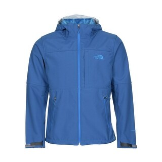The North Face Hoodie PRS Jacket Faux Fur Lining Egyptian Blue Medium M