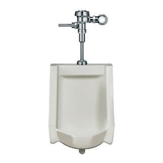 Sloan WEUS-1000.1001 High Efficiency Urinal features a manual Royal Flushometer and a vitreous china urinal fixture.