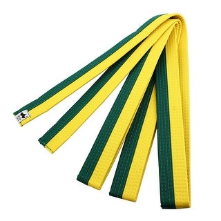 Sporty Rank Hapkido Taekwondo Belt Judo Karate Band Yellow Green