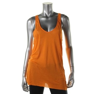 Zara W&B Collection Womens Slub Racerback Tank Top - M
