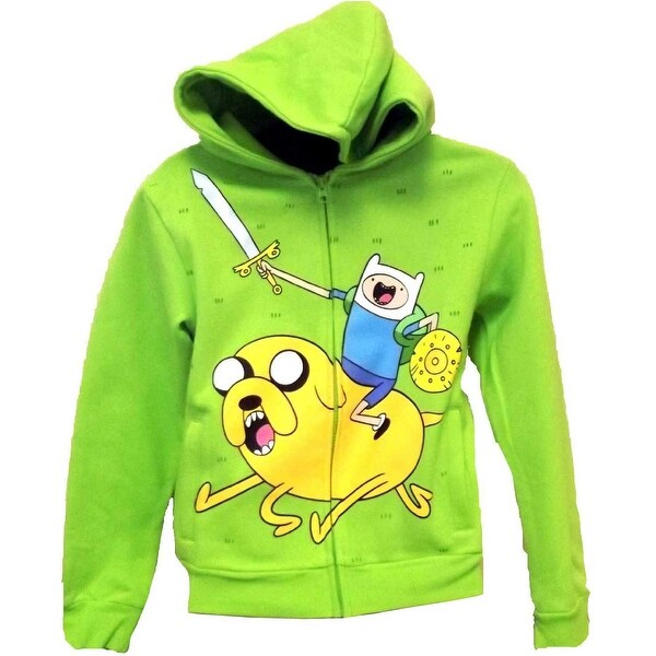 Adventure Time Ice King Zap Youth Zip Hoodie