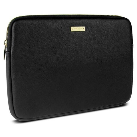 Kate Spade 0.75 in. Saffiano Sleeve for Surface Pro, Black
