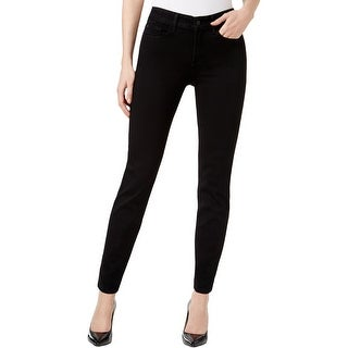 NYDJ Womens Petites Clarissa Ankle Jeans Slimming Fit Mid-Rise