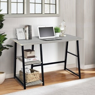 Link to Carbon Loft Abrahams Computer Writing Desk Similar Items in Student Desks