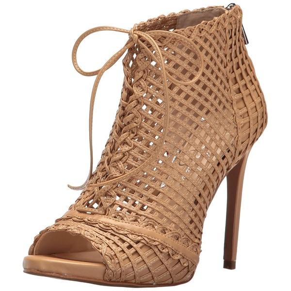 Jessica Simpson Womens Rendy Peep Toe Ankle Fashion Boots
