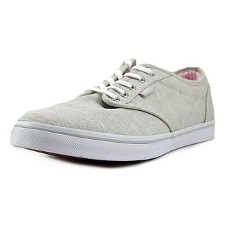 Vans Atwood Low Women Round Toe Canvas Gray Skate Shoe