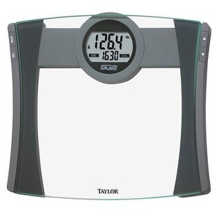 Taylor 7209-4192 Glass Calmax And Bmi Electronic Scale