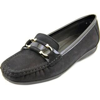 Ara Sigourney Square Toe Leather Loafer
