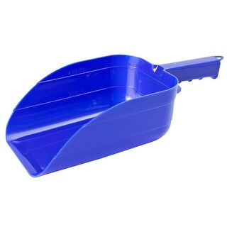Little Giant 90BLUE Plastic Feed Scoop, 5 Pint, Blue