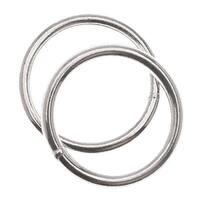 Sterling Silver Closed Jump Rings 12mm 17 Gauge Heavy (4)