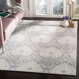 Link to Safavieh Handmade Blossom Littie Modern Floral Wool Rug Similar Items in Transitional Rugs