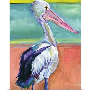 Anne Seay Poster Print entitled Pelican