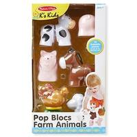 Pop Blocs Farm Animals