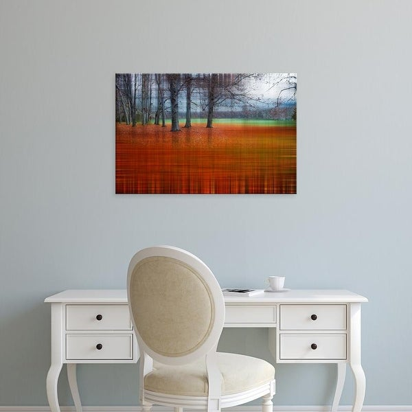 Easy Art Prints Hannes Cmarits's 'Abstract Autumn' Premium Canvas Art