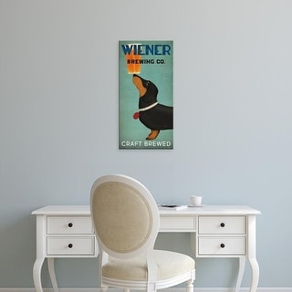 Easy Art Prints Ryan Fowler's 'Wiener Brewing Co' Premium Canvas Art