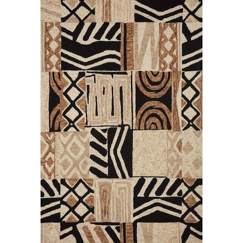 Alexander Home La'akea Hand-Tufted Geometric Area Rug