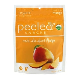Peeled - Dried Mango Strips ( 12 - 2.8 oz bags)