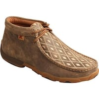 Twisted X Boots Women's Driving Moc Chukka Bomber/Tan Leather