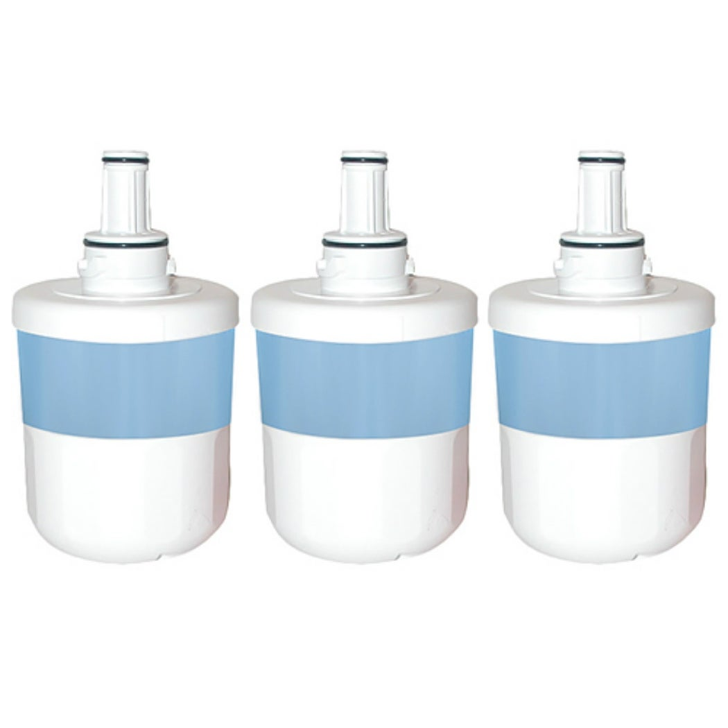 Refresh Replacement Water Filter Fits Samsung RFG298AAWP Refrigerators 3 Pack