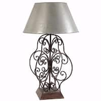 Intricately Designed Table Lamp