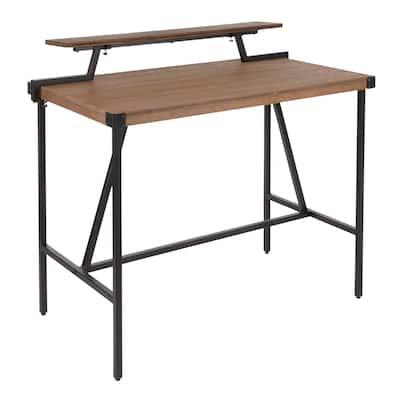 Carbon Loft Gunn Stand Up Desk with Removable Shelf