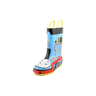 Western Chief Thomas The Tank Engine Youth Round Toe Synthetic Blue Rain Boot