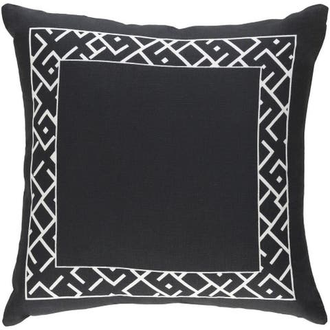 Decorative Yonge 18-inch Down or Poly Filled Pillow