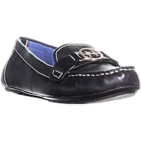 Tommy Hilfiger Raelyn Flat Slip On Loafers, Black