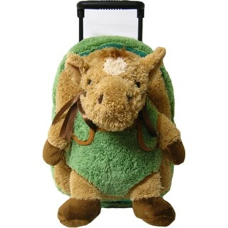 Kreative Kids Unisex Green Horse Plush Roller - One size