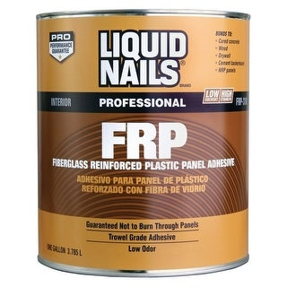 Liquid Nails FRP Adhesive, 1-Gallon
