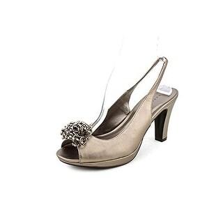 Karen Scott Brena Womens Open Toe Slingbacks Heels Shoes