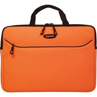 """Mobile Edge MESS0-16 Mobile Edge 16"""" SlipSuit (Orange) - Sleeve - Carrying Strap - 15.6"""" to 16"""" Screen Support -"""
