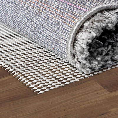 """Unique Loom .1"""" Anti-Slip Rug Pad - Off-White"""