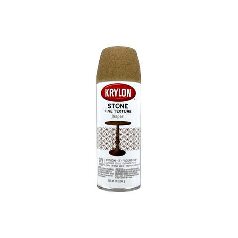 3706 krylon natural stone paint 12oz jasper