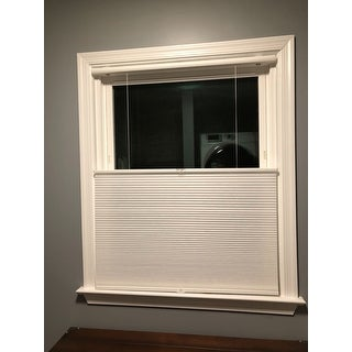 Arlo Blinds White Light Filtering Top-Down Bottom-up Cordless Cellular Shades