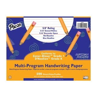 Multi-Program Handwriting Paper Grk 10 1/2 X 8 5/8 500 Sheets