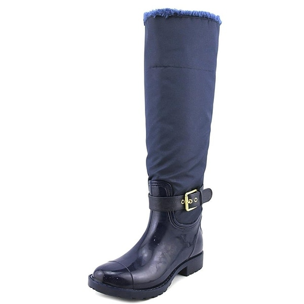 Marc Fisher Womens Calisa Closed Toe Knee High Rainboots