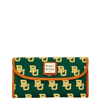 Dooney & Bourke NCAA Baylor Continental Clutch (Introduced by Dooney & Bourke at $128 in Aug 2015)