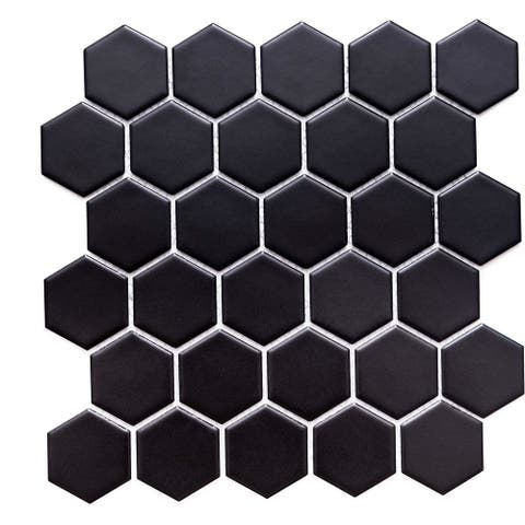 """The Tile Life 2"""" x 2"""" Porcelain Mosaic Tile Weight"""