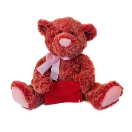 Two Tone Teddy with Gift Card Holder by Russ