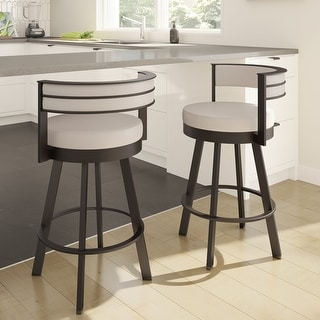 Link to Amisco Browser Swivel Bar Stool Similar Items in Dining Room & Bar Furniture