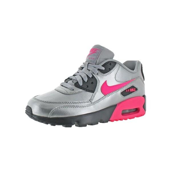 sports shoes c2c32 751cf Nike Girls Air Max 90 Fashion Sneakers Big Kid Non Marking