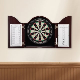 Viper Cambridge Mahogany Finish Dartboard Cabinet / 40-0256