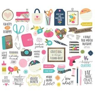 Crafty Girl Bits & Pieces Die-Cuts 55/Pkg-