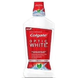 Colgate Optic White Mouthwash, Sparkling Fresh Mint 16 oz