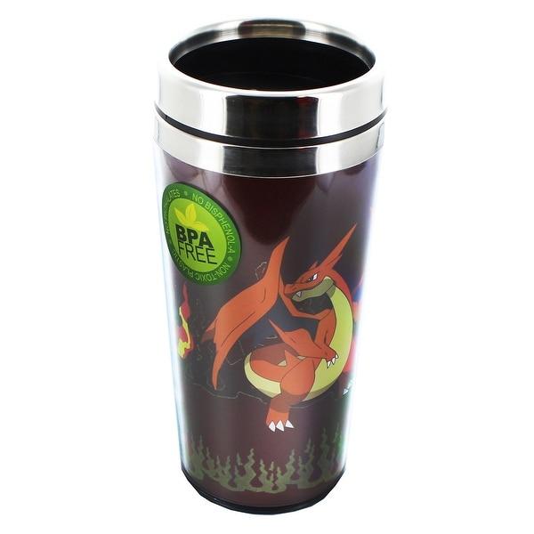 Pokemon Mega Charizard Y 16oz Travel Cup - Multi