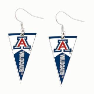 Arizona Wildcats NCAA Pennant Dangle Earring