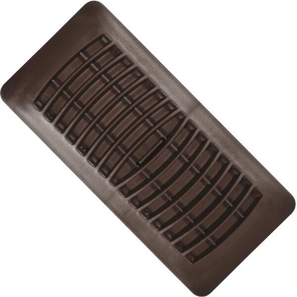 "Imperial RG1293 Plastic Register, 4"" x 10"", Brown"